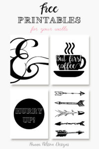 Printable wall art posters. Free to download.