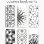 Coloring bookmarks – print, color and read