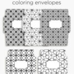 Send Happy Mail with coloring envelopes