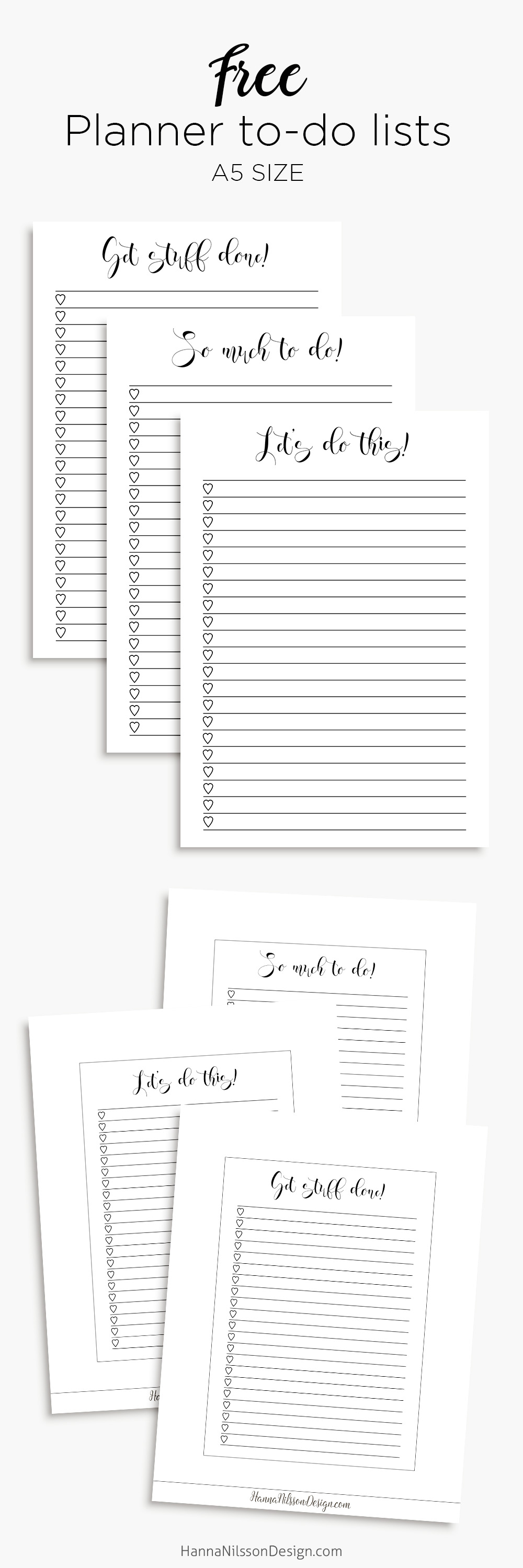 to do list layout