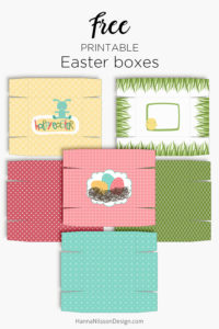 Easter gift boxes printable spring treat boxes hanna nilsson design easter gift boxes printable spring treat boxes easter spring printable negle Choice Image